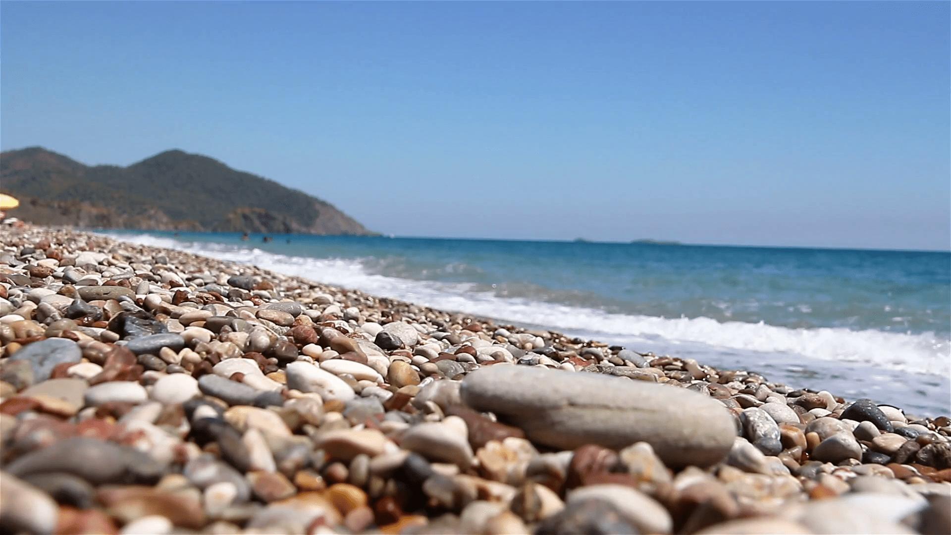 Кемер пляжи галька
