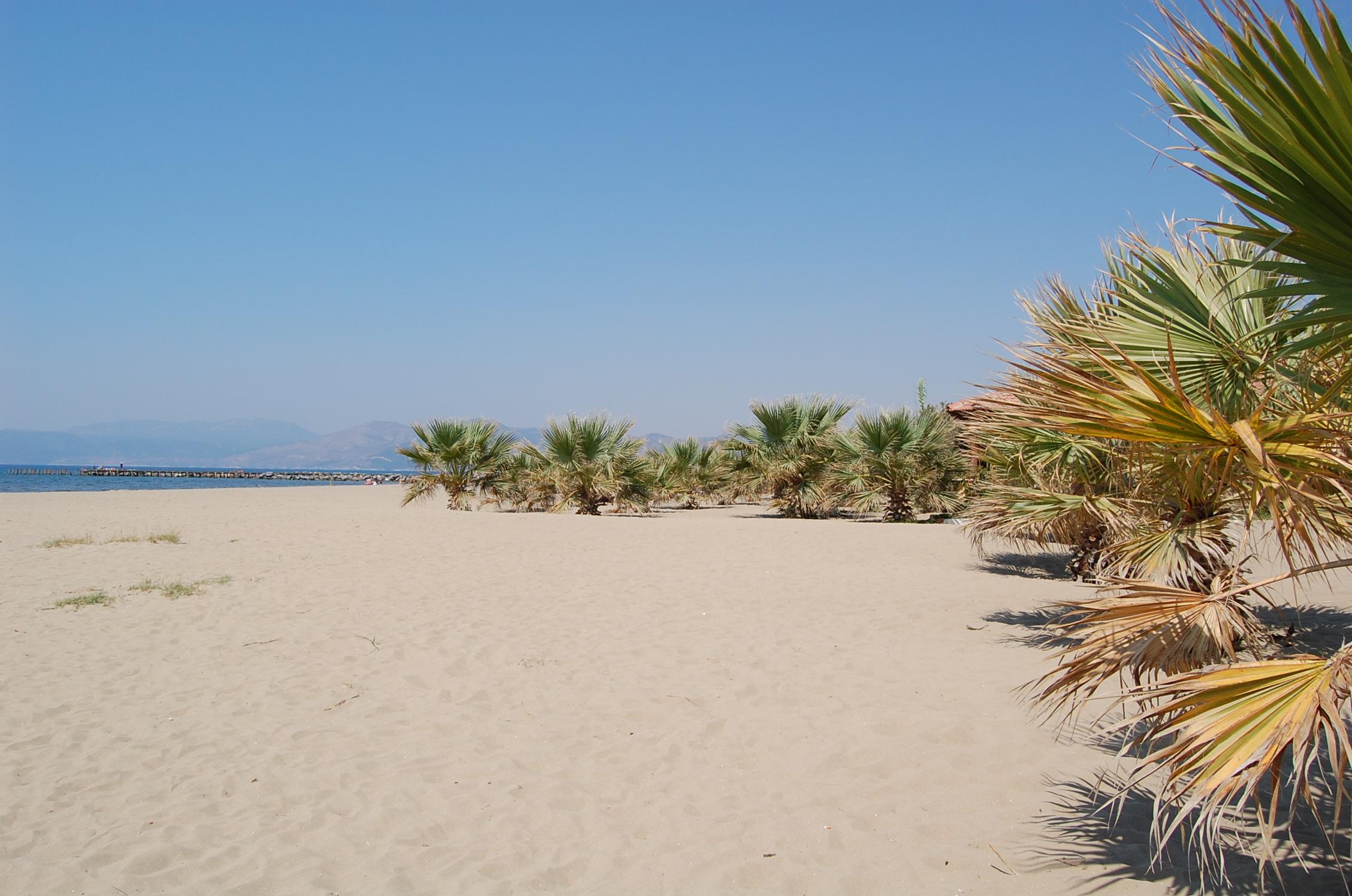 Пляж Памуджак Кушадасы