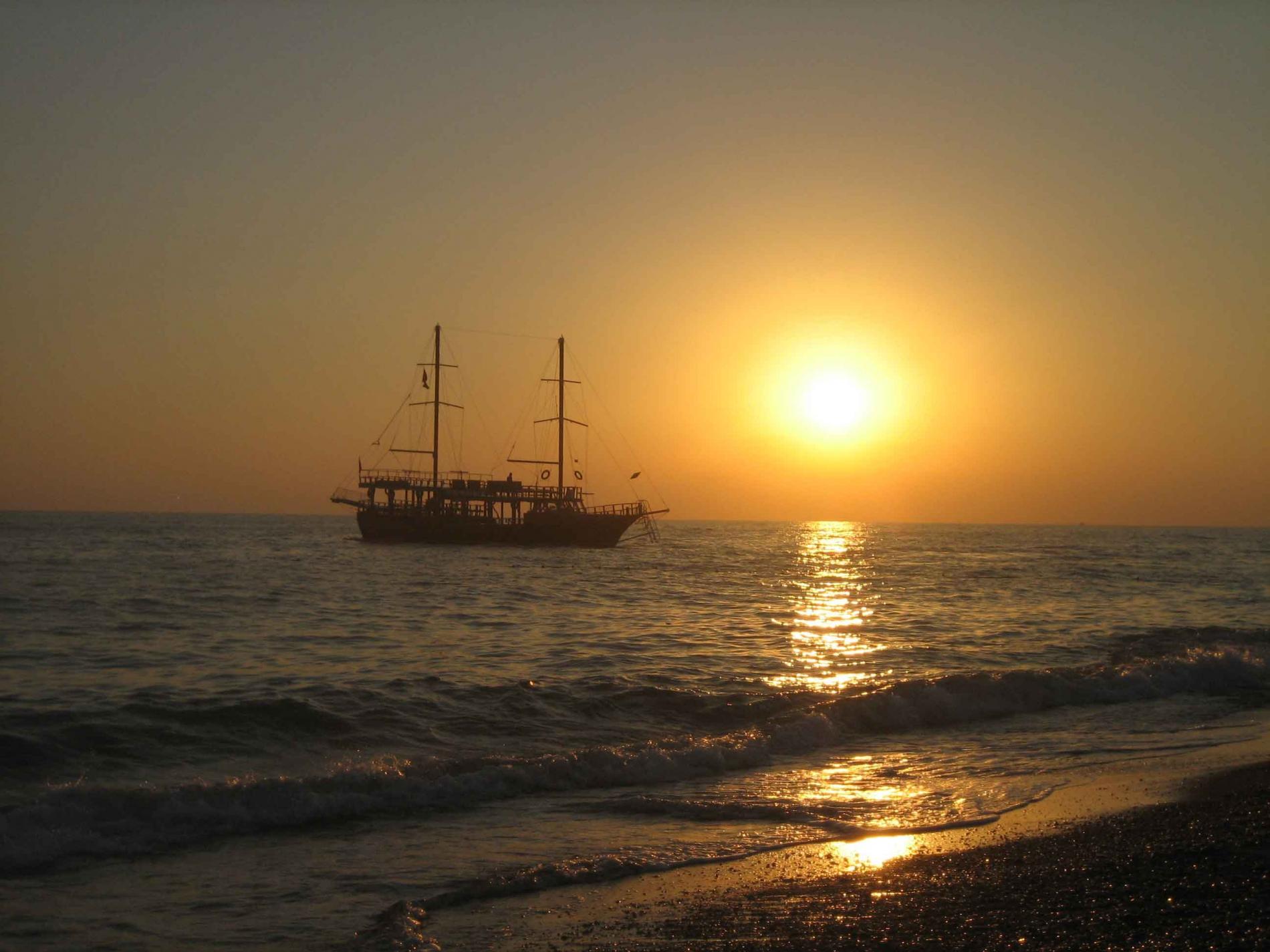 Сиде Средиземное море